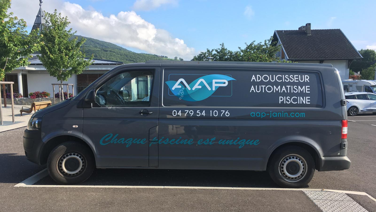 AAP- logo camion