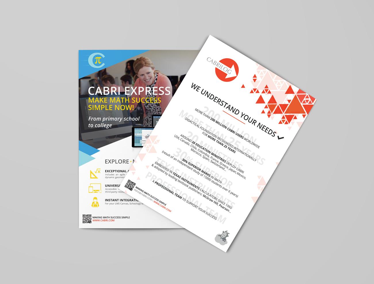 Cabrilog – Plaquette A4 recto/verso