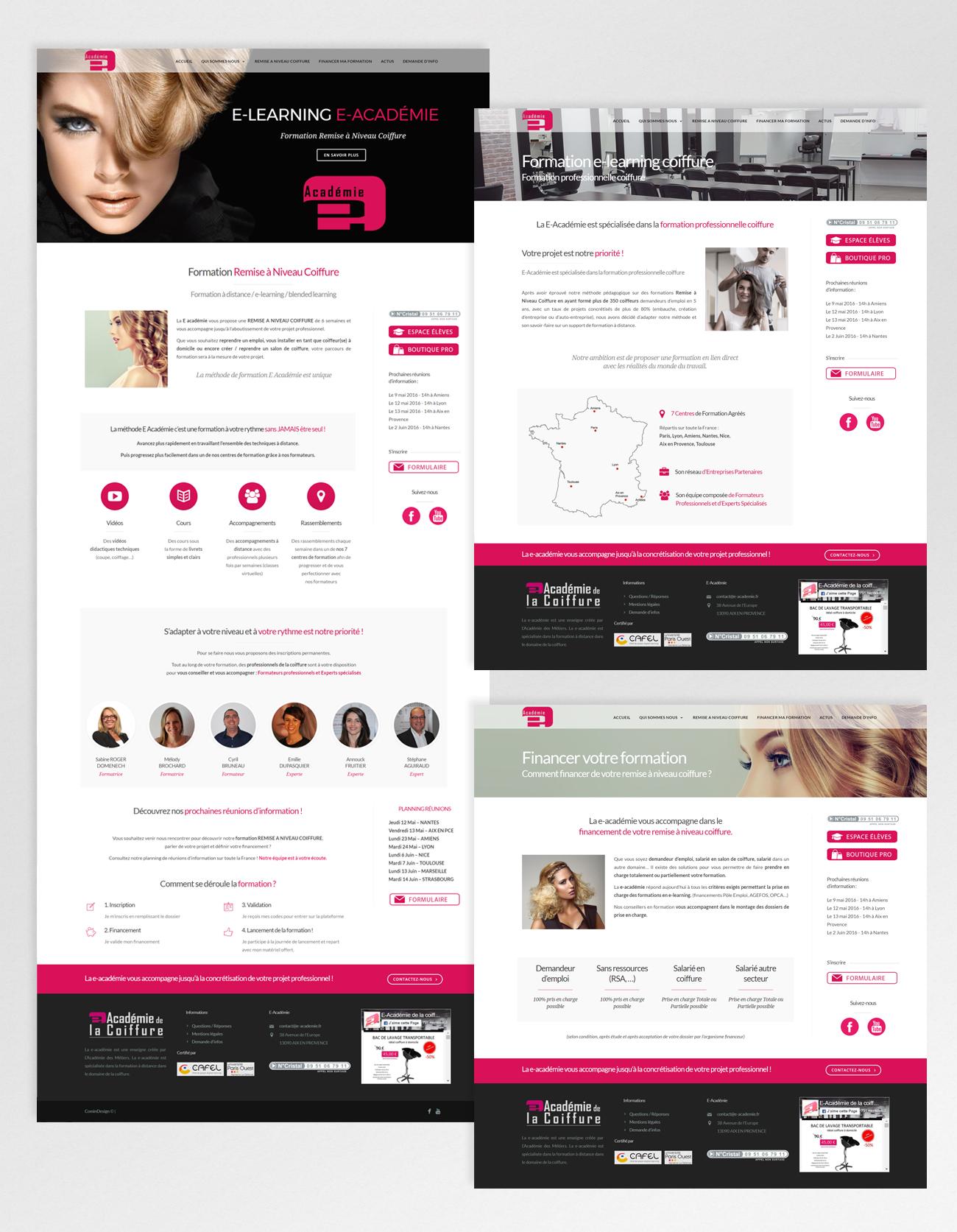 E-academie – website