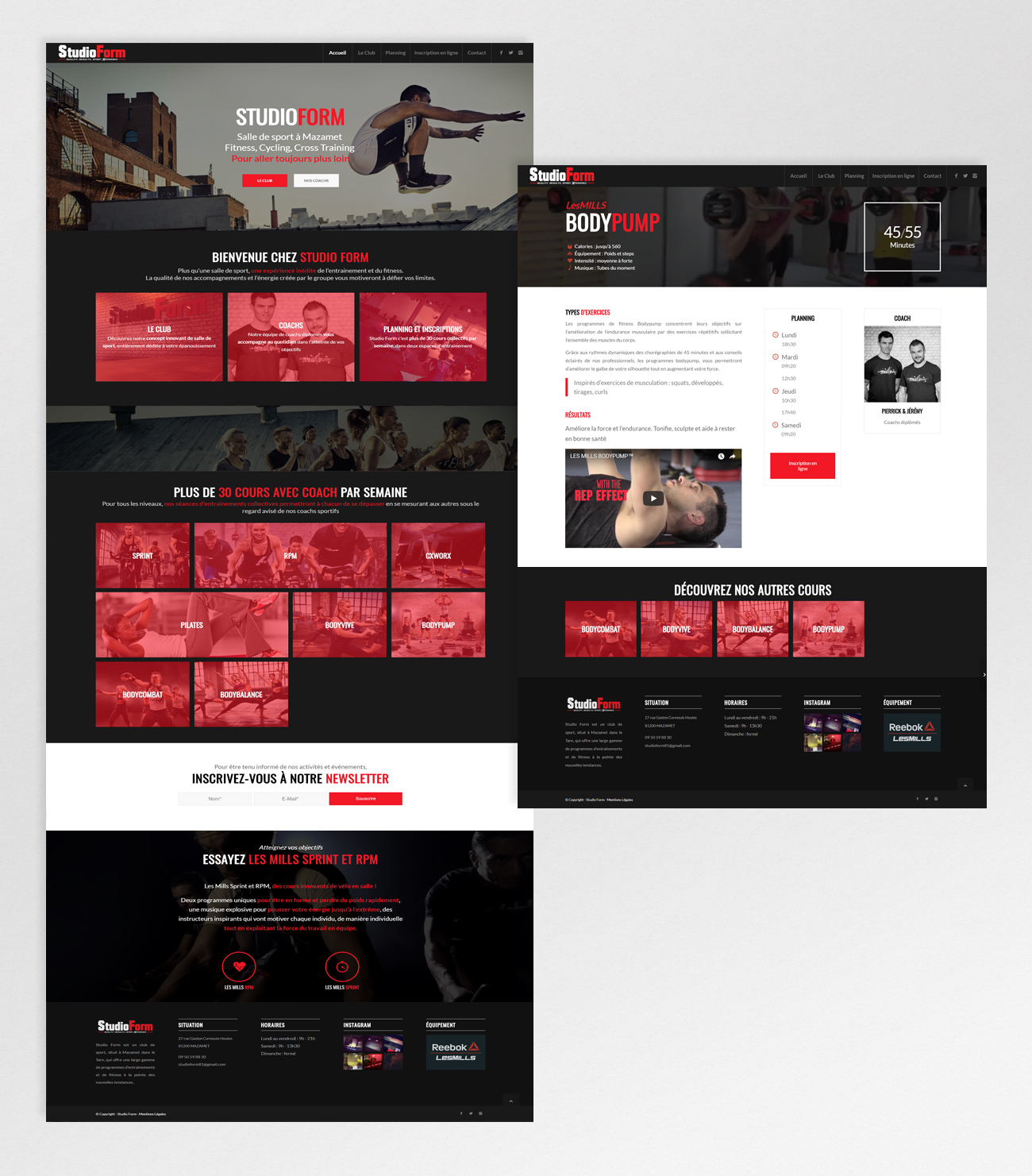 StudioForm – website