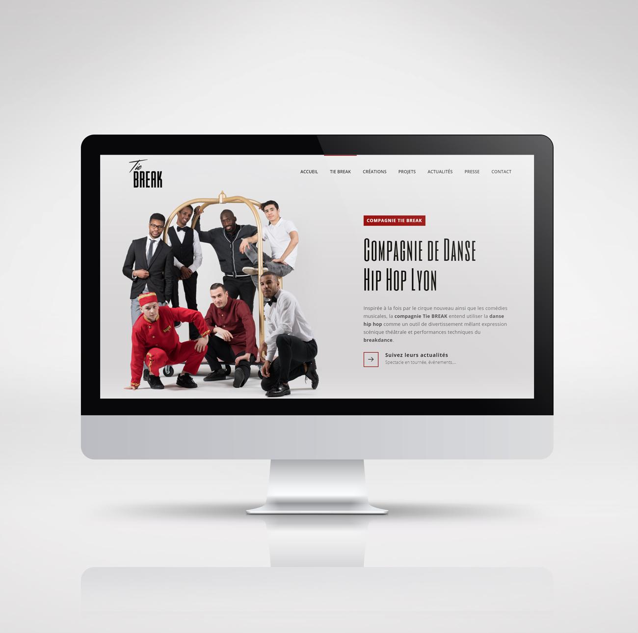 Tie BREAK – website
