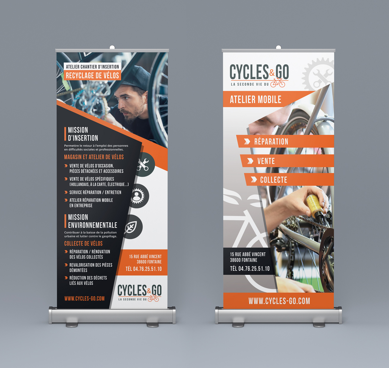 Cycles & Go : Roll up