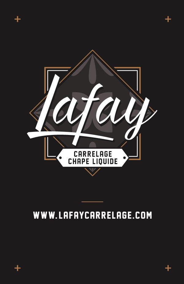 Lafay – carte de visite recto